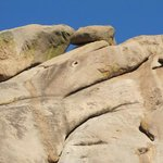 One of many beautiful granite formations
