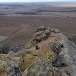 Just below the Baldy Point peak - looking west.