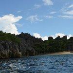 Rocky cliffs (sharp too)