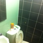 Small, but worked ok. The toilet made ominous burping noises at night whenever