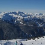 View from top of Blackcomb