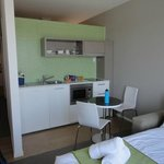 Kitchenette small but useable