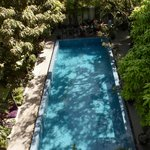 The pool from our Balcony
