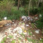 Back of the private beach.. with all the personell why cant you clean this up ?