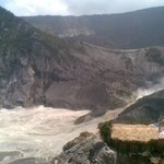 """The view of """"Ratu"""" Crater"""
