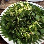 water cress salad, 19k overpriced!