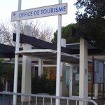 entree de l'OFFICE DE TOURISME ,prochainement transféree auQUARTIER CENTRE