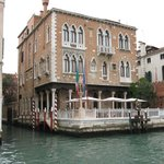 Hotel & terrace overlooking the Grand Canal