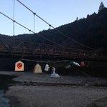川湯温泉の景色です