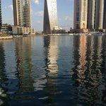 Nearby promenade Marina walk