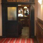 the tailor quigly bar, carvery food lovely