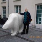 A very safe polar bear