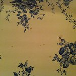 Marks on the wallpaper