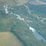 Huka Falls from the Air