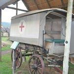 Old Ambulance Wagon On Grounds