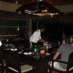 Japanese Tepenyaki Grill in Cayenne restuarant