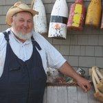 Farmer Wayne enjoys the odd fresh oyster!