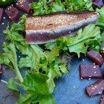 Sashimi de thon rouge