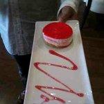 desert, strawberry cheesecake