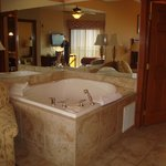 1 bed deluxe jacuzzi