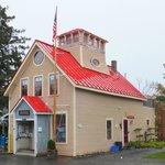 Owls Head post office next door to General Store