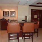 dining area in suite
