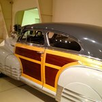 one of many antique car restorations