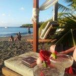 Happy Hour on beach via Terry