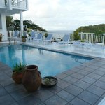 View of the pool and sundeck