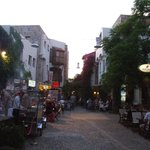 Min Bodrum, the shopping street