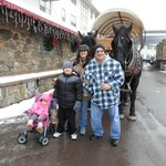 Christmas Day Horse And Carriage Ride