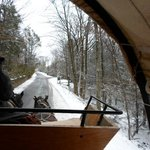 Great View From Inside Carriage Ride Xmas Day 2012
