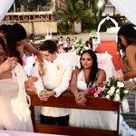 continuation of Wedding Ceremony Progress near the Lake