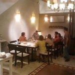 Hier wurden wir und andere Gäste abends zum Essen eingeladen :)