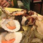 Seafood plattter