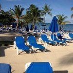Beach and pool!! Not photoshopped but looks like it true heaven beach and pool all open
