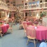 Christmas Time in the Atrium bldg 2012