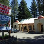 If you drive by too fast, you'll miss the St. John's Bakery on US 97.