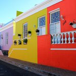 The Bo Kaap neighbourhood