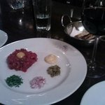 Beef Tartare--I highly recommend