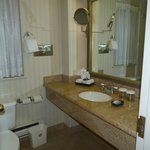 bathroom--small, but adequate