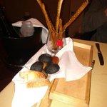 Il pane al tavolo