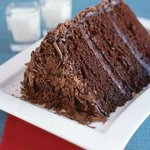 Triple-Layer Chocolate Ganache Cake