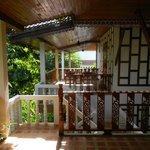 Вид с балкона-террасы