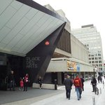 The symphony hall is part of the Place des Arts complex