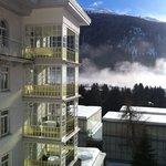 прекрасные террасы отеля
