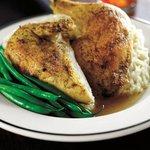 Roasted Free Range Half Chicken