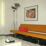sleeping sofa modern apartment