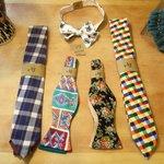 Hand made ties!