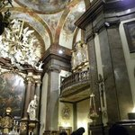 Baroque decor and the ornate organ